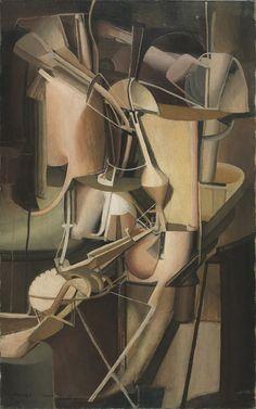 Marcel Duchamp, Nude Descending a Staircase (No. 3), 1916
