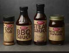 New Lobel's Sauces and Seasonings, developed by America's #1 family of butchers to complement the finest quality meats. #MyLobels