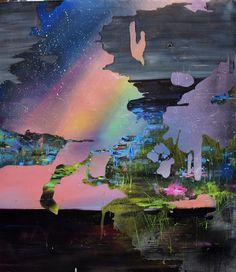 Aurora - broken landscape