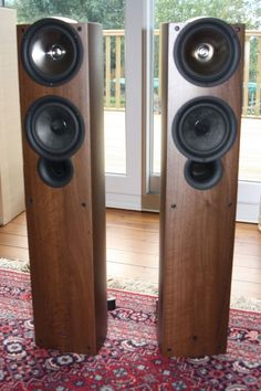 Kef iQ5 floor standing speakers walnut #KEF