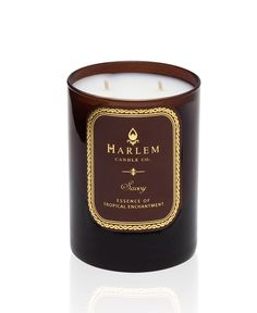 Savoy Luxury Candle | Ozone, Cassis, Mandarin Scented Candles | Harlem Candle Company
