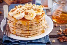 Oat Pancakes with Bananas