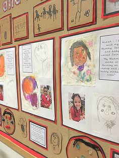 """""""We have enjoyed learning all about ourselves this half term Reggio Inspired Classrooms, Reggio Classroom, Classroom Organisation, Classroom Setup, Preschool Bulletin, All About Me Preschool Theme, All About Me Activities, Class Bulletin Boards, Fairy Dust Teaching"""