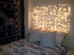 Dorm room wall decor ideas hipster room ideas hipster wall decor hipster room ideas for guys . Diy Christmas Light Decorations, Christmas Lights In Bedroom, Hanging Christmas Lights, Room Decorations, Diy Decoration, Holiday Lights, Dorm Room Walls, Room Wall Decor, Home Decor Bedroom