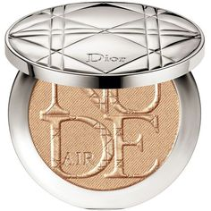 Dior DIORSKIN NUDE AIR LUMINIZER POWDER Shimmering Sculpting Powder (365 DKK) ❤ liked on Polyvore featuring beauty products, makeup, face makeup, face powder, beauty, bronzed glow and christian dior