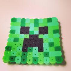Minecraft Creeper perler beads by Kate Chaplin 7538399d01a