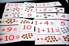 About a month ago I shared some math videos I was working on to teach Damien the basic arithmetic facts […] Matching Games For Toddlers, Addition Flashcards, Addition Facts, Tot School, Math Facts, Early Learning, Teaching Math, Kids Education