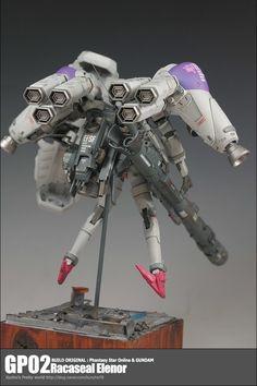 GP02 Racaseal Elenor GP02 Racaseal Elenor BUILD ORIGINAL : Phantasy Star Online & GUNDAM http://blog.naver.com/kunyho78/220723472513