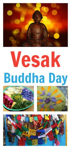 Vesak activities, resources about Buddhism for children, learn about Buddha, and lesson plan for Buddha Day for children