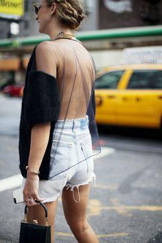 Vestidos con la espalda al aire