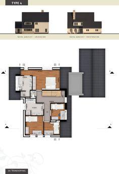 Voorbeeldvilla type 4 - verdieping