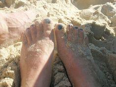 Blauwe tenen!, via Flickr.