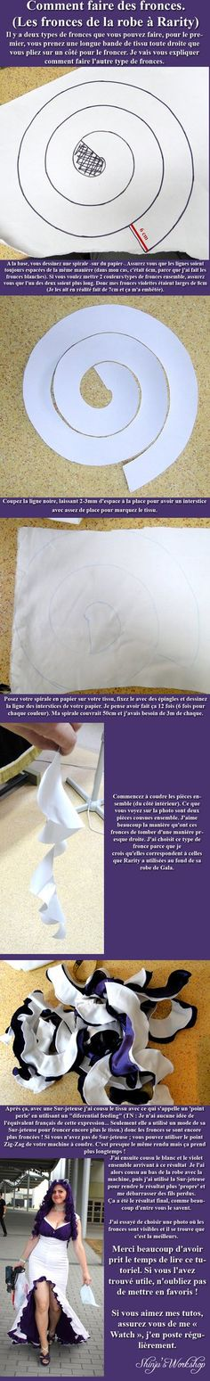 Comment faire des fronces (de la robe de Rarity) by ShinjusWorkshop on deviantART  | followpics.co
