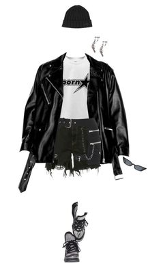 """""""."""" by malsss ❤ liked on Polyvore featuring Faith Connexion, Yves Saint Laurent and Dsquared2"""