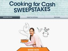 Enter The Valpak Cooking for Cash Sweepstakes for a chance to win 1 of 5 $1,000 Checks!