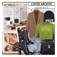 """Romwe 2"" by emina-turic ❤ liked on Polyvore featuring Nicki Minaj, Salsa, Wrap, Valentino, Yves Saint Laurent, women's clothing, women, female, woman and misses"