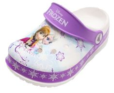 Disney Frozen Elsa Anna Girls Kids Toddler Clog Mule Sandals Shoes