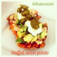 Ripped Recipes - Stuffed Sweet Potato - This is an amazingly delicious meal that will take only 2 minutes.