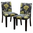 Seedling by Thomas Paul Uptown Dining Chair - Garden Court Charcoal (Set of 2) - $140
