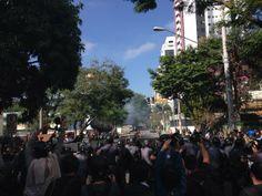 Imprensa internacional acompanha protesto nas ruas de São Paulo. Foto: Reprodução / ITV News