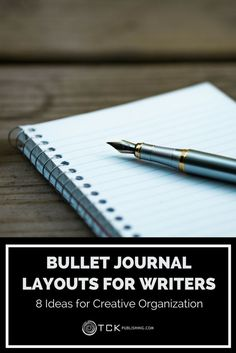 Bullet Journal Layouts for Writers 8 Ideas for Creative Organization is part of Organization Journal Track - Get inspired and organized with these great tips and tricks for creating a bullet journal for writers Creating A Bullet Journal, Bullet Journal Layout, Bullet Journal Inspiration, Writing Inspiration, Bullet Journals, Bullet Journal Ideas For Writers, Writing Notebook, Book Writing Tips, Writing Process
