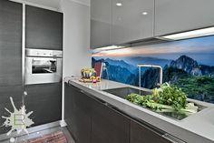 Fototapeta do kuchni Krajobraz górski