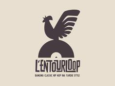 L'Entourloop  #logotype #logo