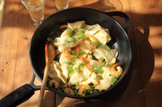 pasta rags with prawns fresh peas and chervil maggie beer more pasta ...