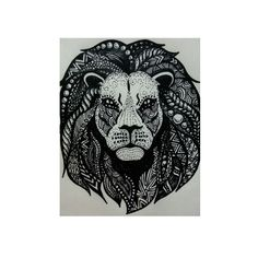 Zentangle | Rasta Lion (2015)