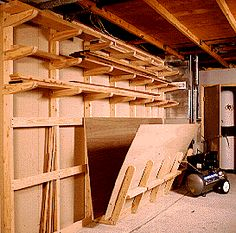 Idea Shop 1: 3 Lumber storage rack