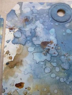 Words and Pictures - Oxides + Distress Ink