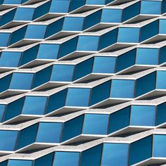 Alexander Jacques transforms architectural facades into abstract patterns