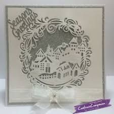 Image result for Tutorial for crafters companion create a card winter wonderland