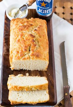 Check Out Bacon Beer Bread It S So Easy To Make Bacon Beer Beer Bread And Bacon