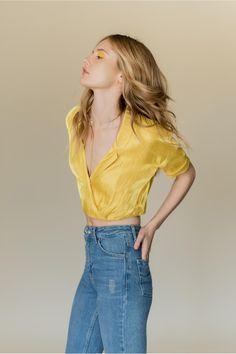 Karen Blouse - Customizable Made to Order Top | frilly