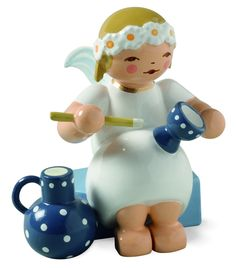 Wendt and Kuhn Marguerite Angel with a Goblet and Jug - New for 2014