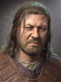 Ned Stark by Tonzy   Holy F*ing amazing