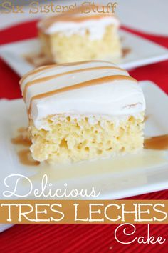 Delicious Tres Leches Cake | SixSistersStuf.com