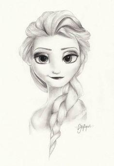 Elsa frozen by Skylilyart