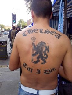 Quality Chelsea Tattoo