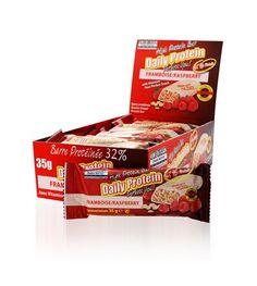 Barres protéinées framboise 35 g