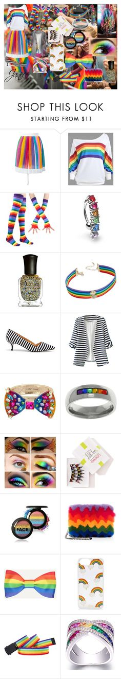 """""""Daughter of Laughing Jill: Janice"""" by emmaxxash ❤ liked on Polyvore featuring IO Ivana Omazić, Bling Jewelry, Deborah Lippmann, INC International Concepts, Sole Society, WithChic, Betsey Johnson, Carolina Glamour Collection, FromNicLove and Les Petits Joueurs"""