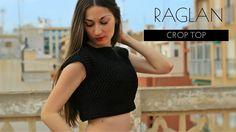 DIY Raglan Crop Top - Crochet Pattern Tutorial