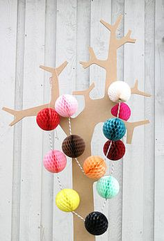 Paper Balls Large Party Decorations by Petra boase Ltd, the perfect gift for Explore more unique gifts in our curated marketplace. Paper Party Decorations, Garland Decoration, Hanging Decorations, Outdoor Decorations, Christmas Decorations, Tissue Paper Ball, Paper Bunting, Paper Garlands, Paper Balloon