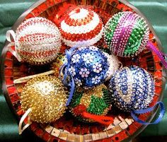 Etsy Fort Worth: How to make a sequin and beaded ornament