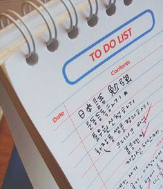 I am in LOVE with to-do lists, especially for back to school!