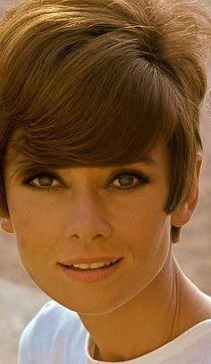 Lovely Audrey Hepburn photographed by Pierluigi Praturlon in St. Tropez (France), 1966.