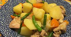 塩肉じゃが☆鶏もも肉で by ポン吉ポン子ちゃん [クックパッド] 簡単おいしいみんなのレシピが243万品