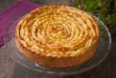 Рецепт, который я долго искала - «Невидимый» яблочный пирог Food Art, Tart, Bakery, Food And Drink, Cooking Recipes, Yummy Food, Sweets, Cookies, Desserts