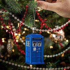 Doctor Who Holiday Ornaments - Take My Paycheck - Shut up and take my money! | The coolest gadgets, electronics, geeky stuff, and more!